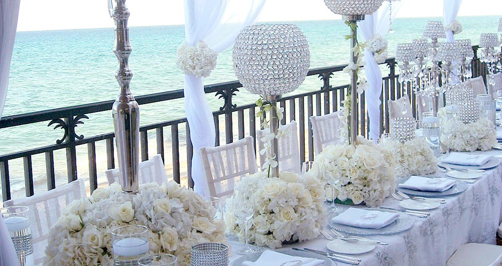 Palm beach lake pavilion wedding